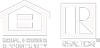 White Equal Housing Opportunity and Realtor logos